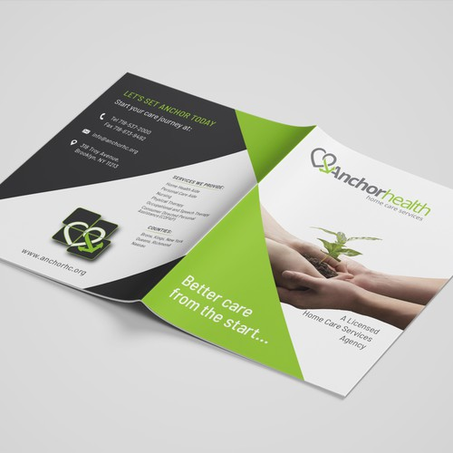 Bi Fold Brochure, Anchor Health