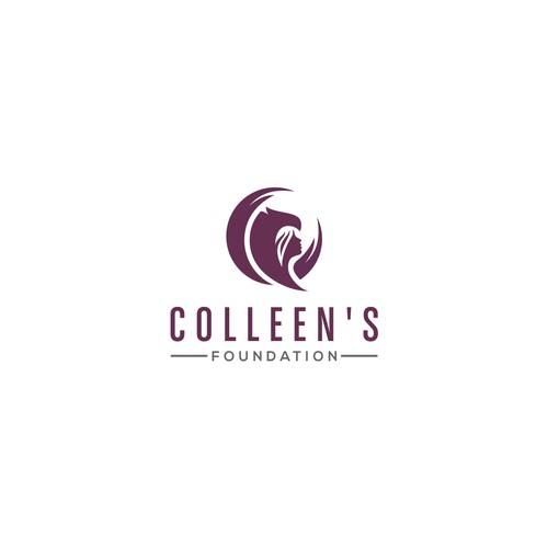 The design logo of Colleen's Foundation
