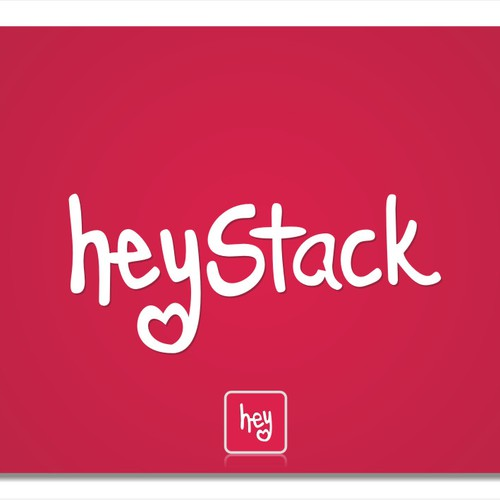 Create the next logo for heyStack