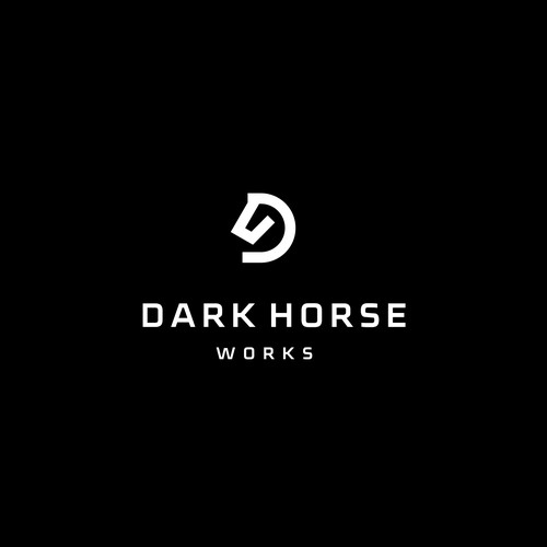 Logo for consulting company Dark Horse
