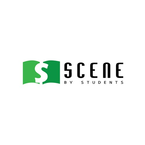 Logo concept for - Scene by Students
