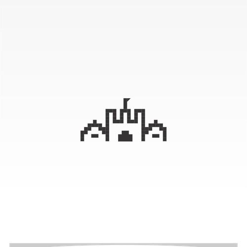 pixel castle