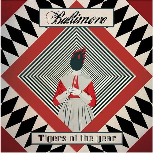 Rock band album cover