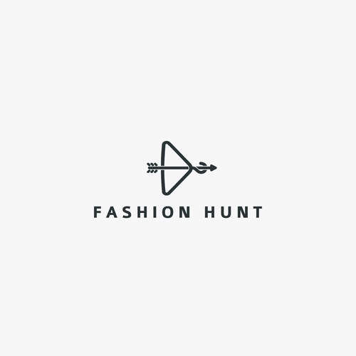 Logo concept for Fashion Hunt.
