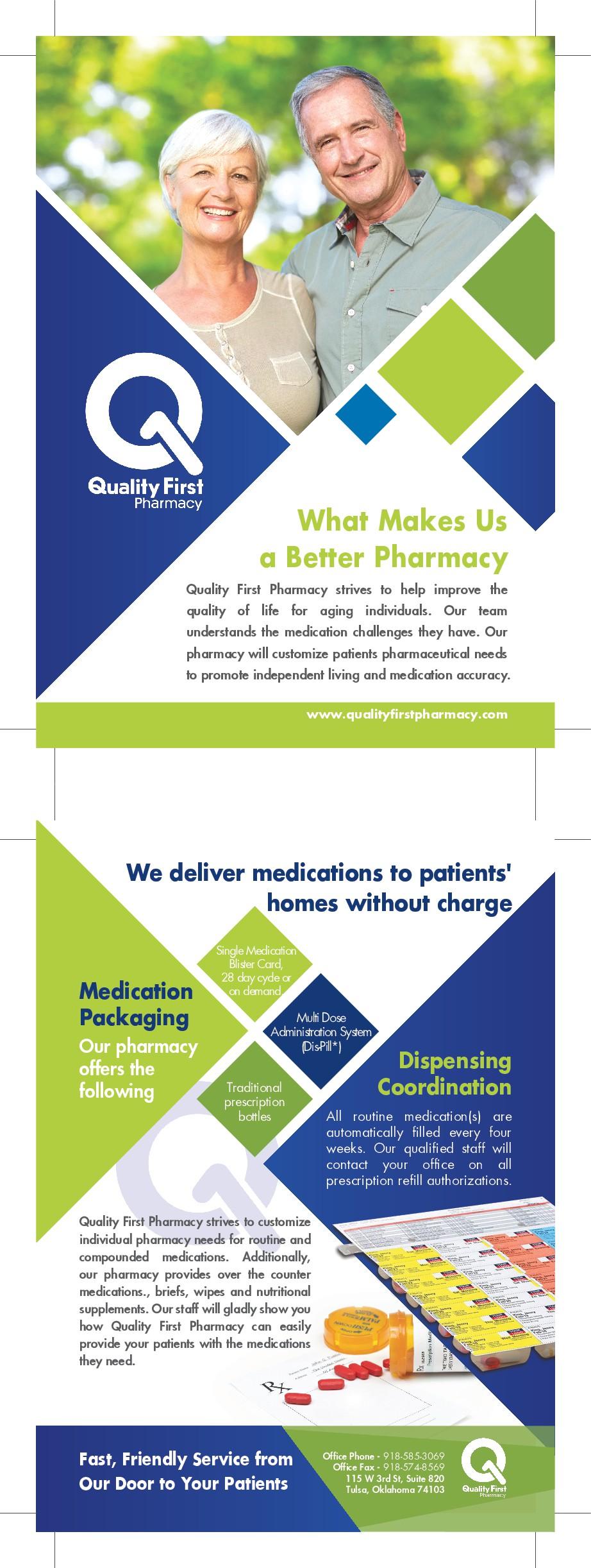 Pharmacy Flyer for Doctors Office