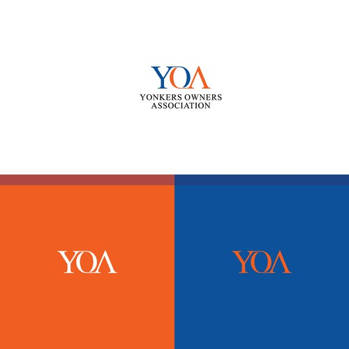 Typograpy for YOA company