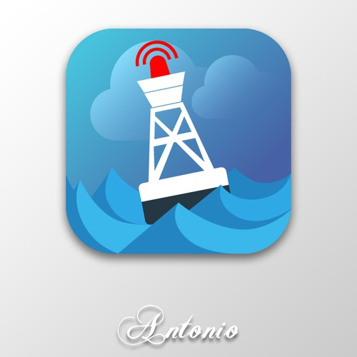 iOS App Icon for Buoy application
