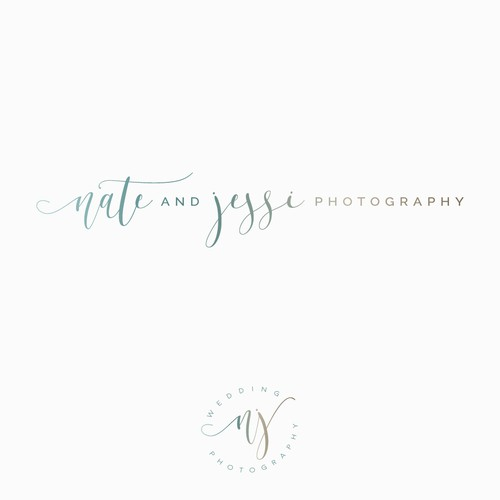 Elegant photography logo