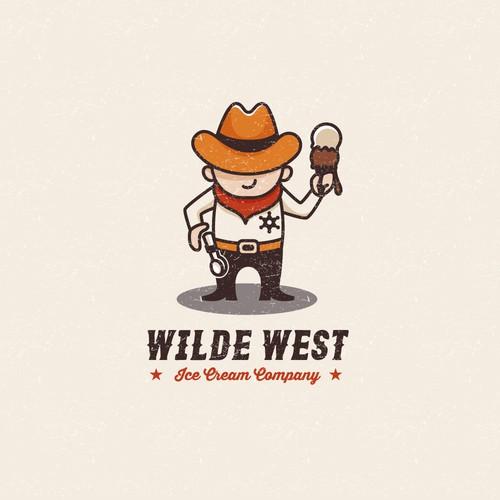 Fun logo for a ice cream company