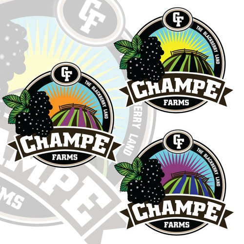 Create the next logo for Champe Farms