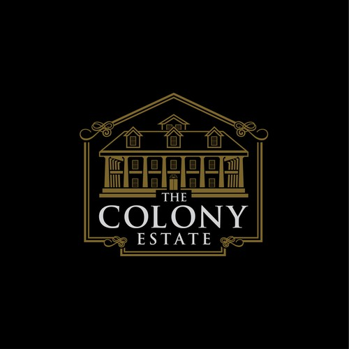 Logo concept for THE COLONY ESTATE
