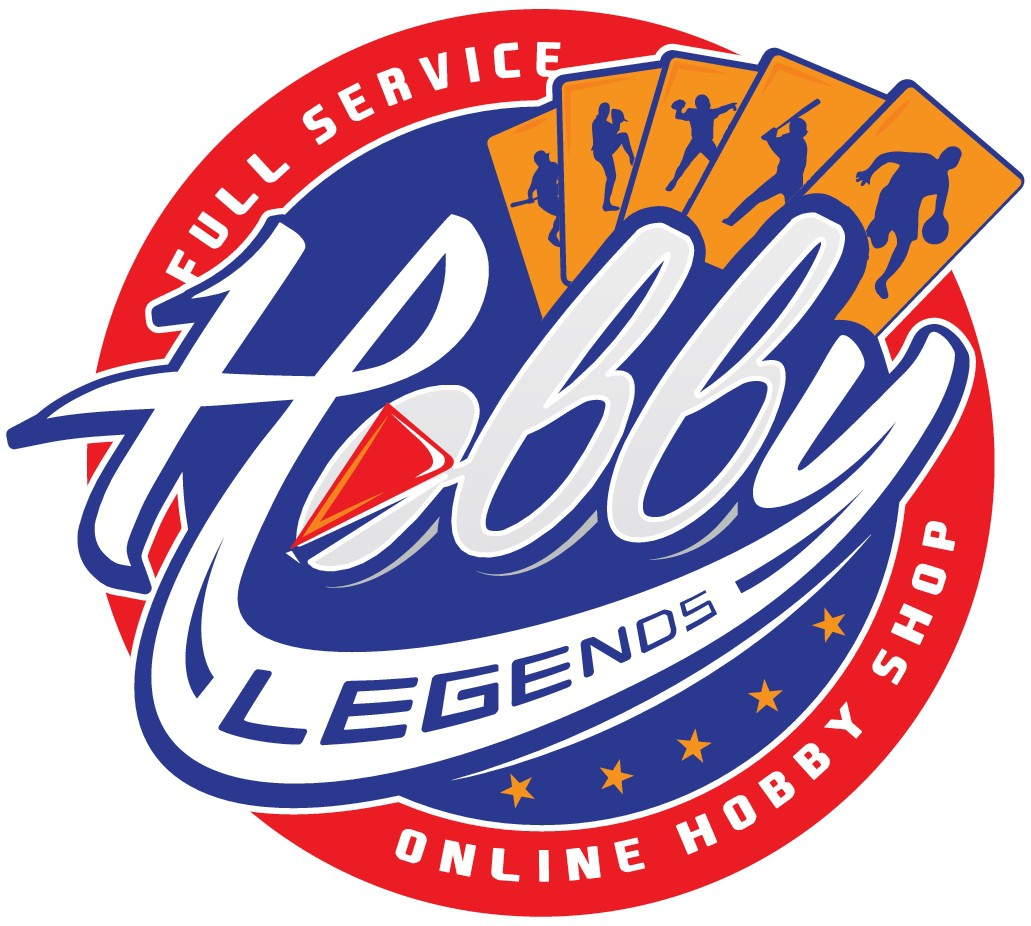 Hobby Legends business logo needed - we deal with officially licenced SPORTS CARDS and products
