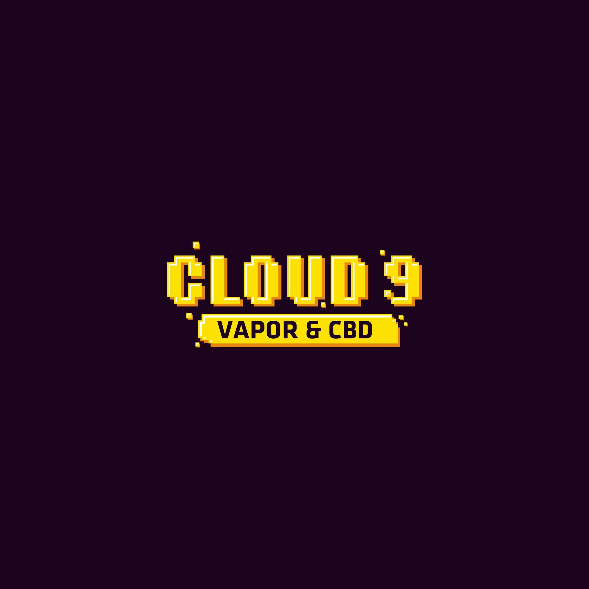 cloud 9 pixelated logo