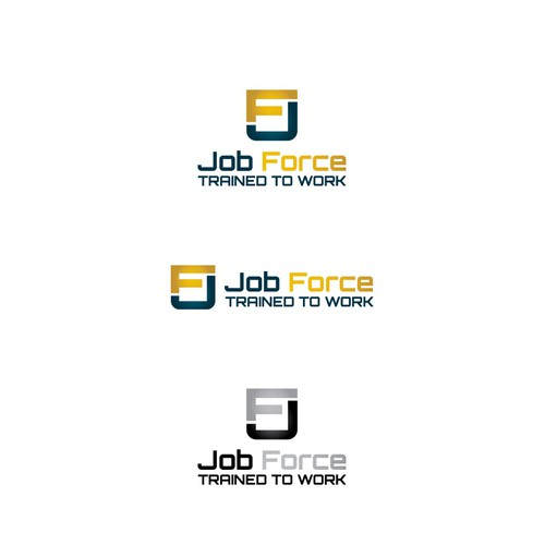 Bold logo for staffing agency