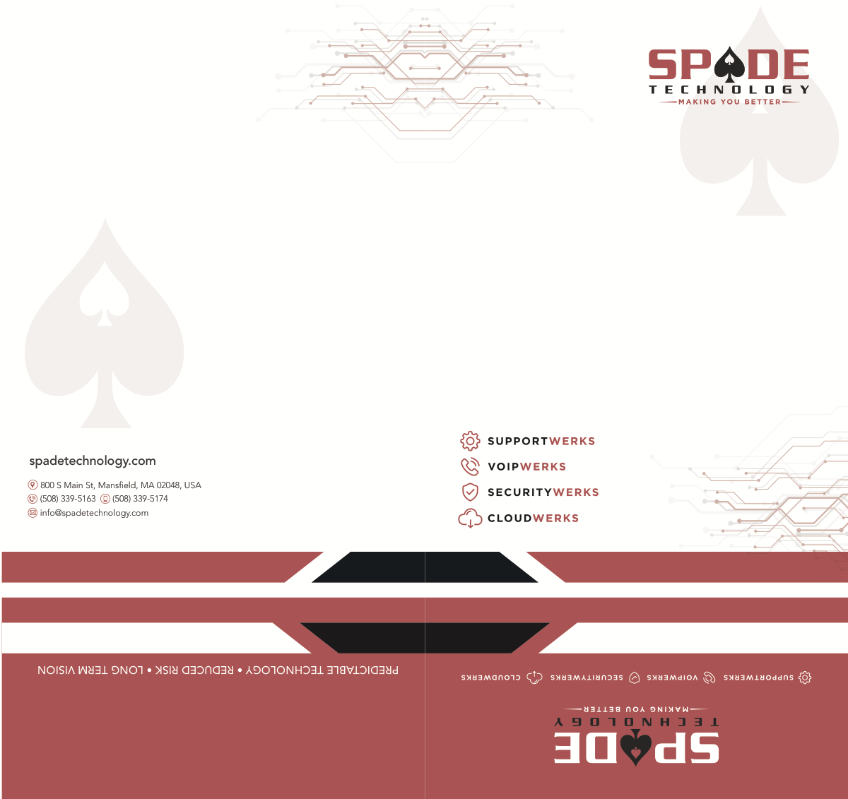 Spade Technology Branding with existing logo