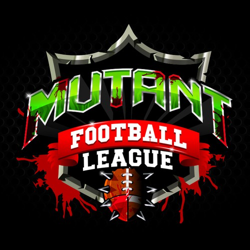Design a killer logo for the videogame: Mutant Football League