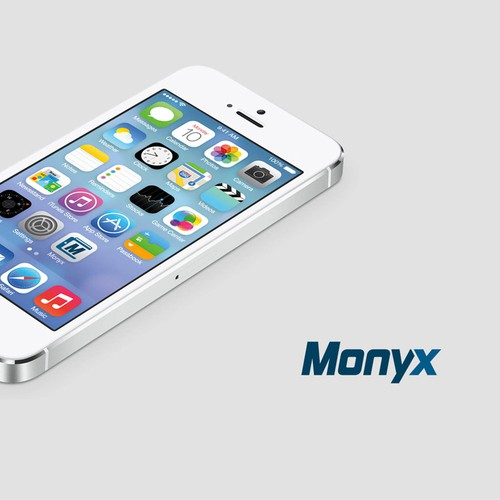 "Logo For Electronic Wallet ""Monyx"""