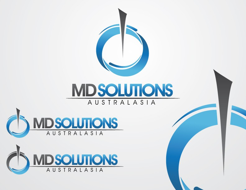Create the next logo for MD Solutions Australasia