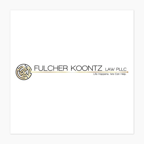 Magnetic Logo For A Law Firm