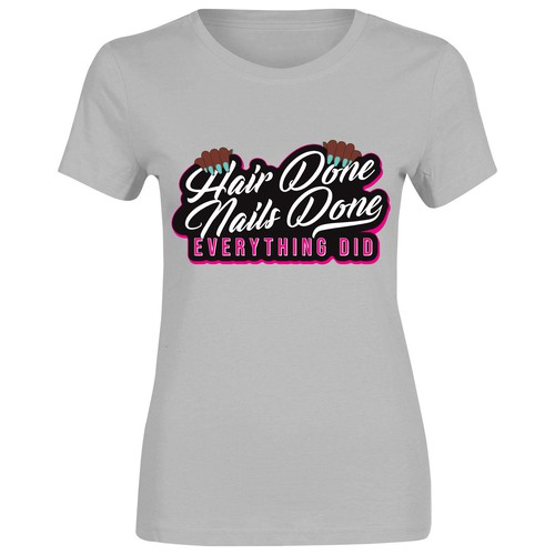 Urban & feminine t-shirt design
