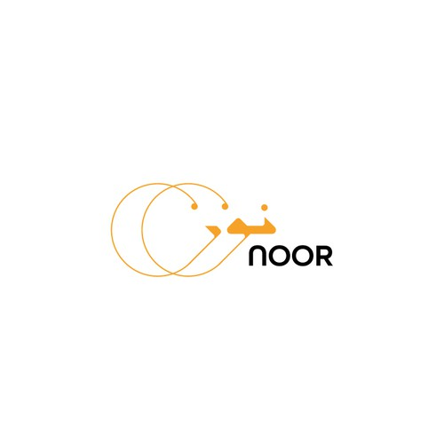 "Arabic logo design for ""NOOR"""