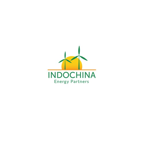 Logo for a renewable energy company in SE Asia.