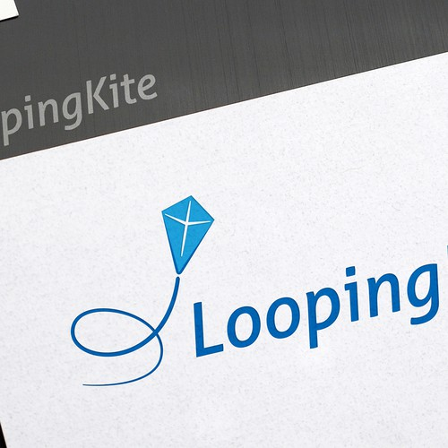 Looping Kite - Logo Design