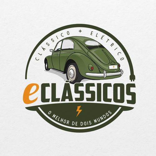 Logo for a company that converts classic cars into electric ones