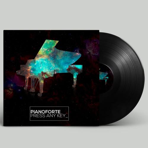 pianoforte debut album cover design