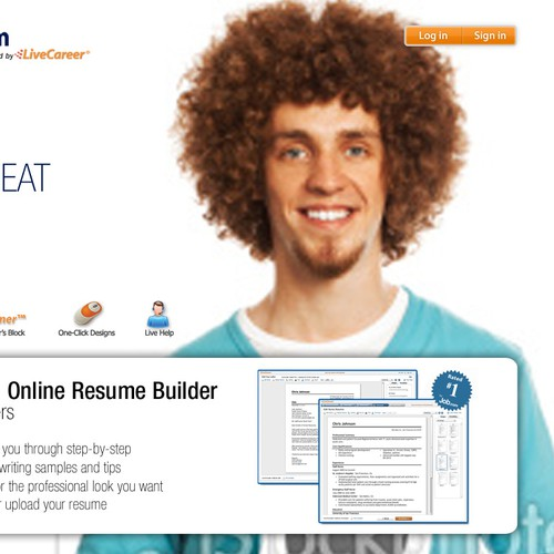 Need your expertise to refresh our resume service for a younger demo!