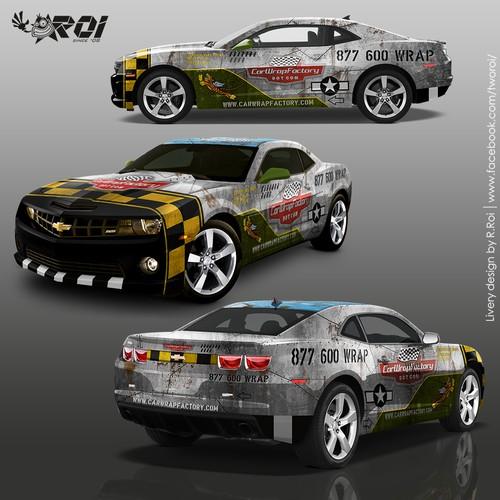 Car Wrap Factory Vehicle wrap