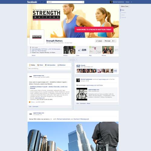 Facebook Social Media Profile