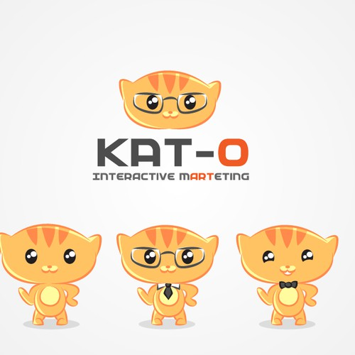 Little tiger logo mascot