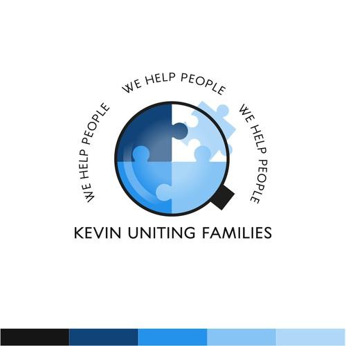 Logo for a company helping families reunite