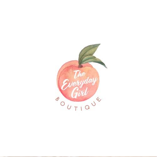 Fresh logo for a online fashion shop