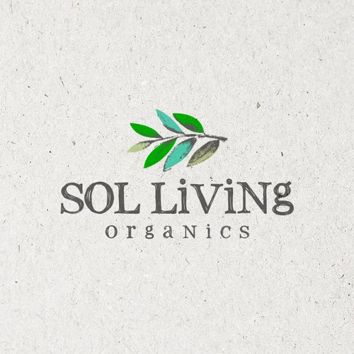 Logo for a Premium Organic Food and Personal Care Brand