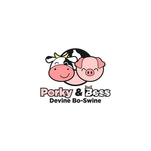 Porky & Bess Logo