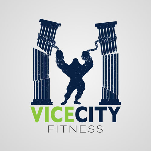 Create the hottest logo for a gym in South Beach, FL - Vice City Fitness