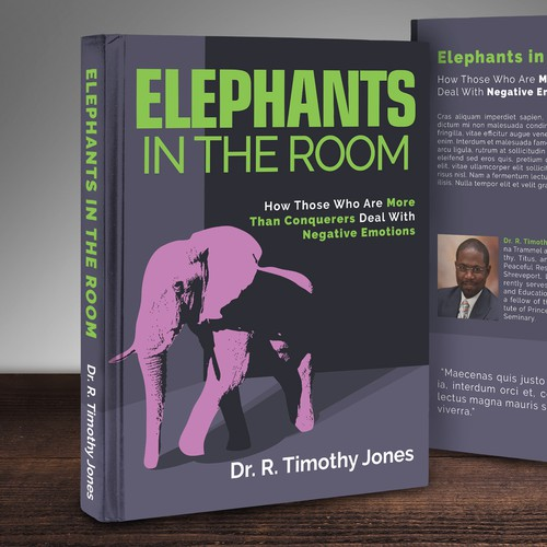 """Elephants in the Room"" Book Cover"
