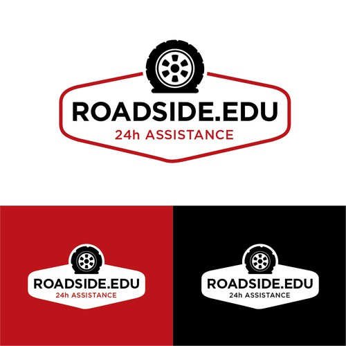 Road assistance logo