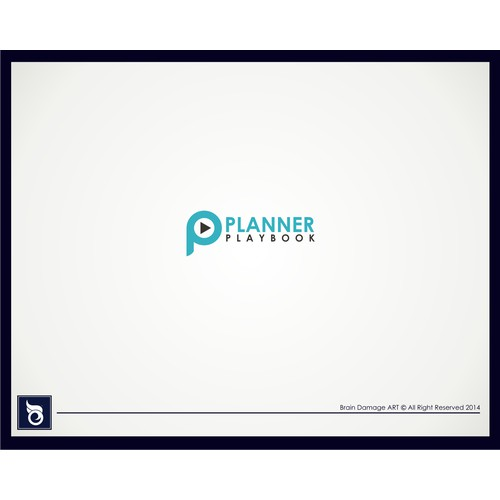 PLANNER PLAYBOOK: Create a simple modern logo for a training & events company for financial planners