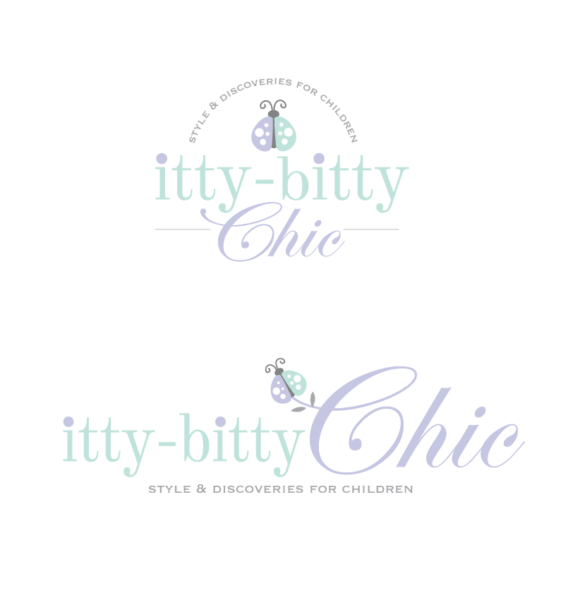 Create the next logo for Itty-Bitty Chic