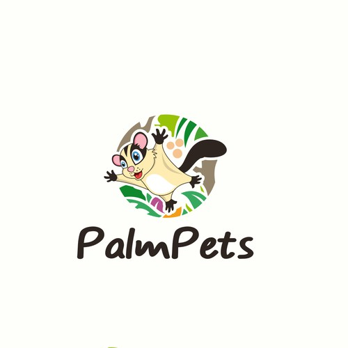 logo for palm pets