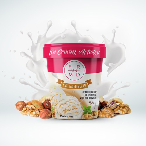 Nut Based Ice Cream