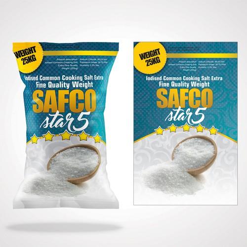 Packaging design for Salt