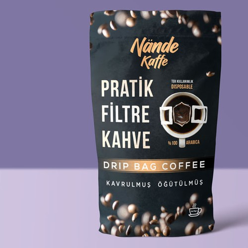 coffee packet