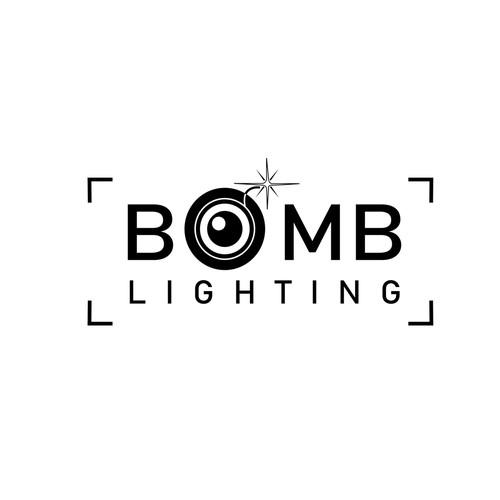 Logo Concept for Bomb Lighting