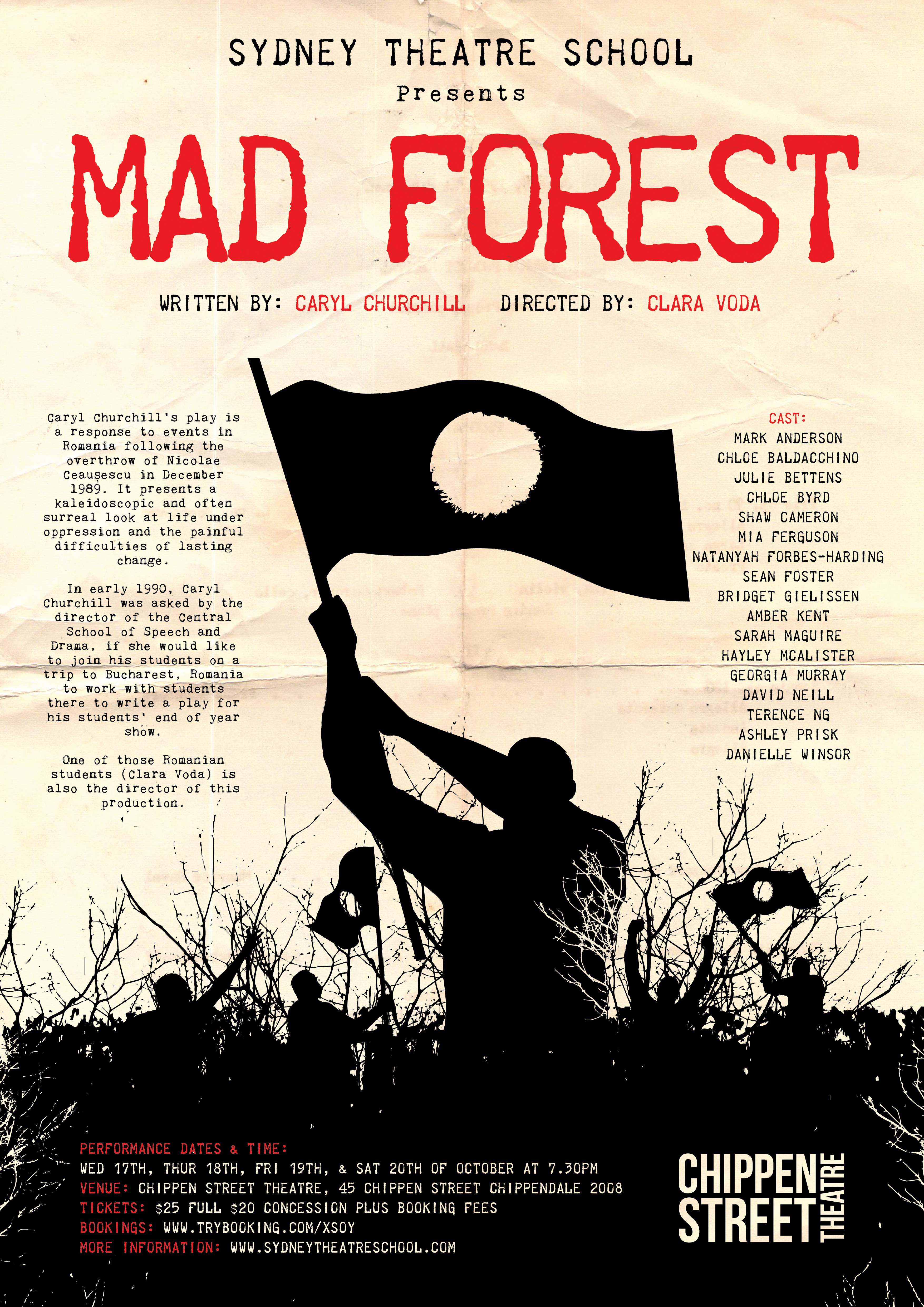 Mad Forest Poster and FB Cover