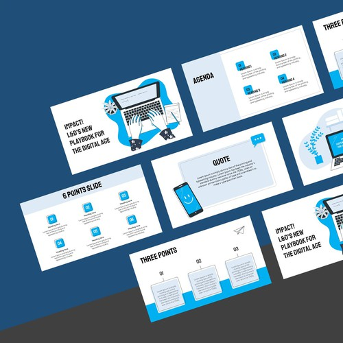 Visuals and PPT deck to support a new Business Book