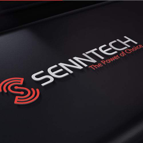 Senntech Logo Design